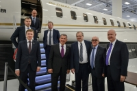 President of the Republic of Tatarstan and General Director MC Tulpar Aero Group visited Bombardier and Pratt & Whitney plants in Canada