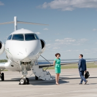 Business jets exhibition in Kazan